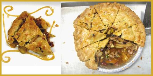 Pork, Bean and Apple Pie